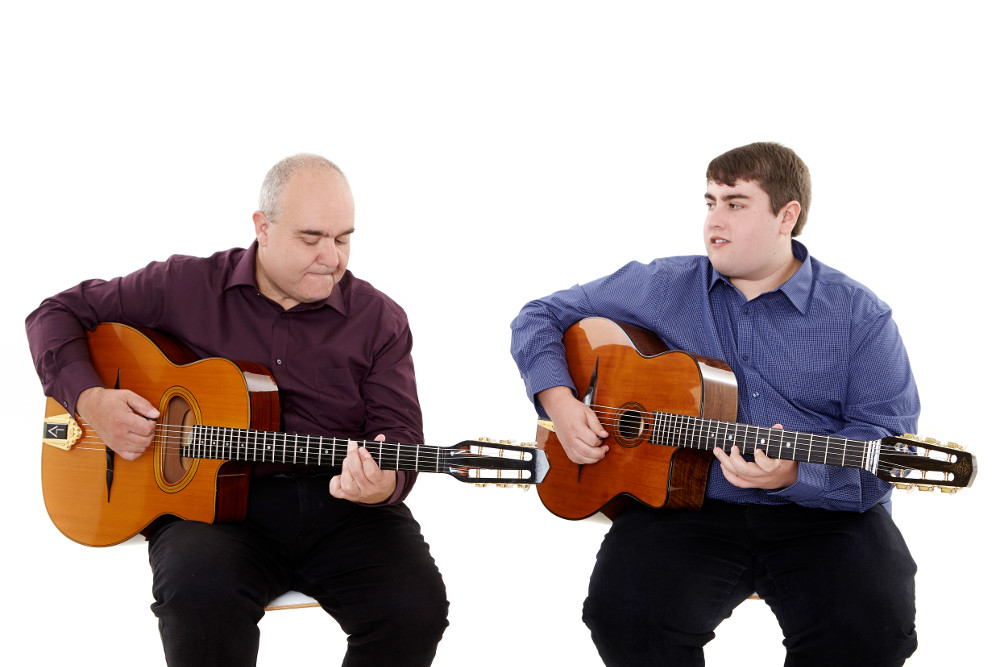 Steve and Brad Hot Club Two Gypsy Jazz Guitar Duo